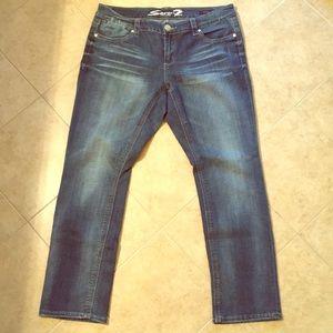Seven7 Size 16 straight leg jeans